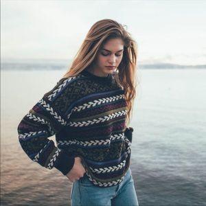 Vintage 80's/90's Chunky Oversized Sweater Size L
